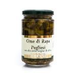 Apulian Turnip Peaks in Extra Virgin Olive Oil