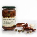 Dried Tomatoes with Aromatic Grasses in Extra Virgin Olive Oil