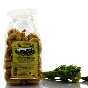 Artisanal Tarallo with Turnip Tops