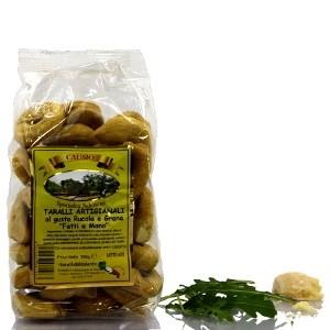 Artisanal Tarallos with Arugula and Parmesan