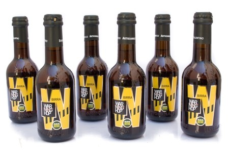 6 Bottiglie di Birra Warning Hop 33 cl