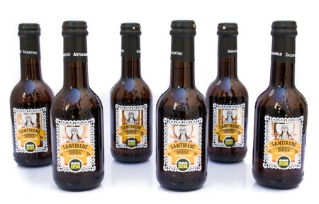 6 Bottiglie di Birra Santirene cl 33
