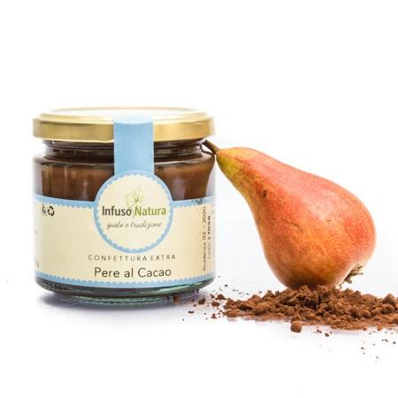 Confettura Extra di Pere al Cacao