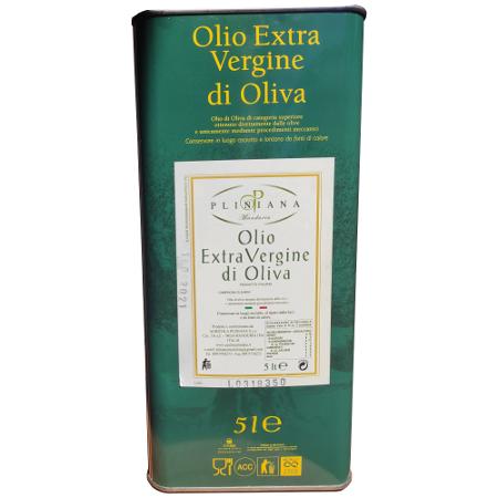 Olio Extravergine di Oliva Pliniana 5l
