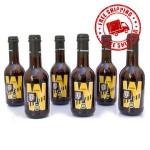 6 Bottiglie di Birra Warning Hop 33 cl