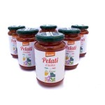 6 Pomodori Pelati al Basilico Demeter
