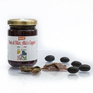 Pesto di Olive, Alici e Capperi Demeter