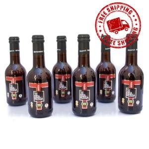 6 Bottiglie di Birra Terrarossa 33 cl