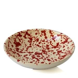 Ciotola Screziata Rossa 20 cm