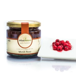 Confettura Extra di Mirtilli Rossi Cranberry