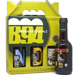 Confezione Degustazione Birra Artigianale 3 Bottiglie 33CL