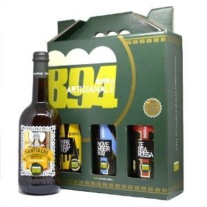 Confezione Degustazione Birra Artigianale 3 Bottiglie 75CL