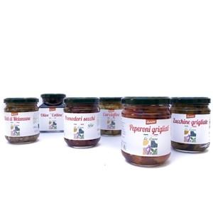 Mix di Prodotti Tipici Pugliesi Biologici Demeter