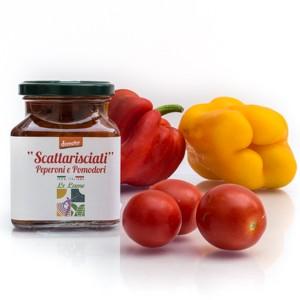 """""""Scattarisciati"""" Peperoni e Pomodori Demeter"""